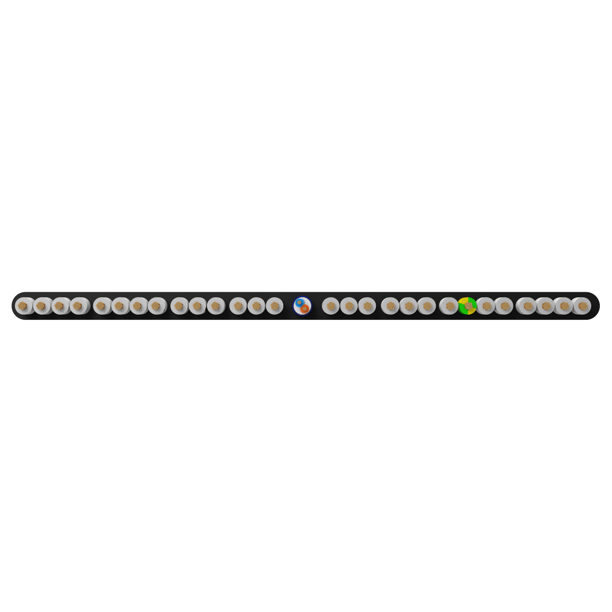 28x0.75 +1Px(2x0.22) mm² H05VVH6-F Foiled Elevator Cable