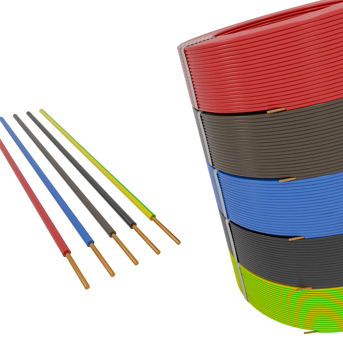 0,75 mm² Insulated Cables