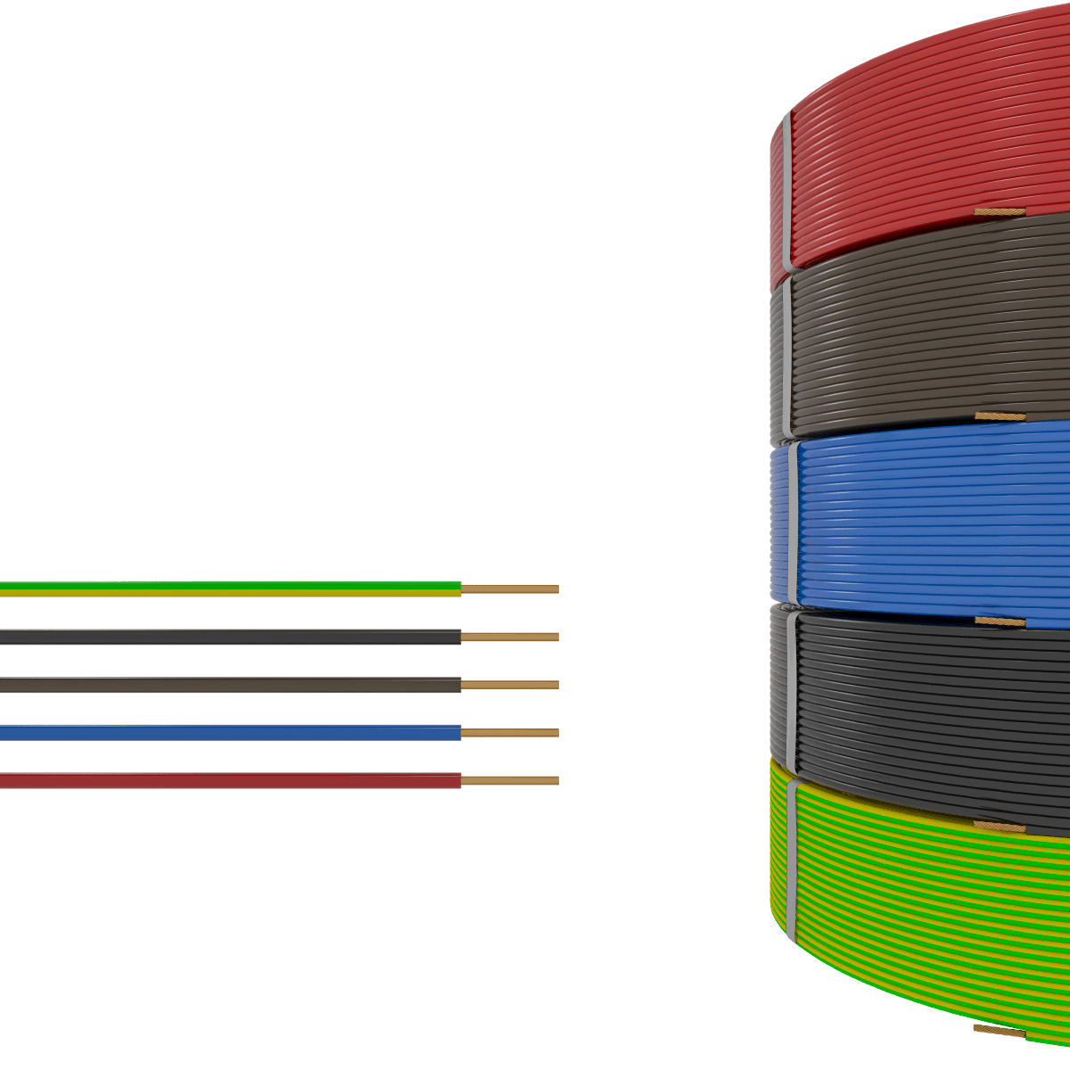 2,5 mm² Insulated Cables